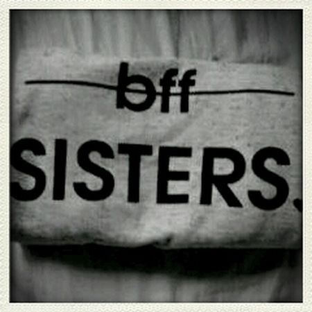 Clothes Black & White Bff❤ Sisters(: photo by me