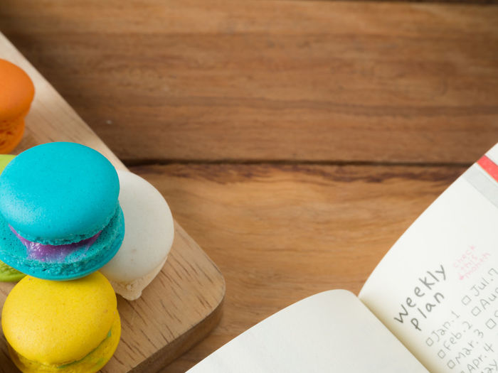 Colorful homemade macaroons staying on open book over valentines day concept. Background Biscuit Book Color Colorful Cookie Day Dessert Food French Hipster Love Macaroons Mint Paper Pastel Pink Retro Summer Sweet Vintage White