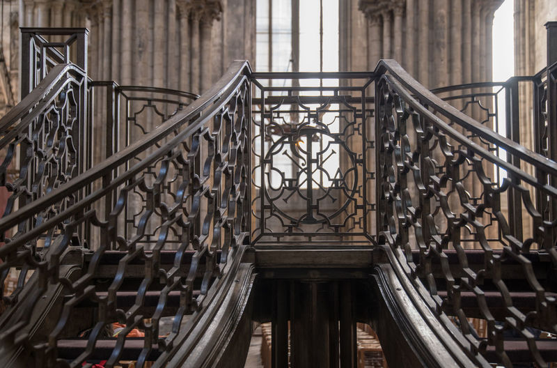 Cathedral EyeEm Best Shots EyeEm Gallery EyeEmBestPics Architecture Building Building Exterior Built Structure City Connection Day Design Eye4photography  Iron - Metal Low Angle View Metal No People Ornate Outdoors Pattern Railing Staircase Steps And Staircases Sunlight Travel Destinations Wrought Iron