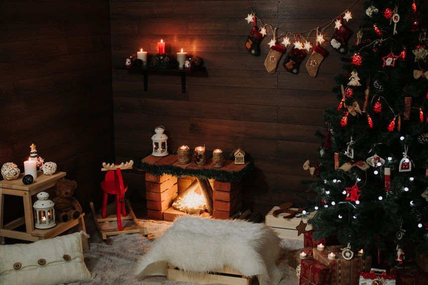 Christmas Gifts Christmas Lights Gift Box Igvas Light New Year Božic Candellight Candels Children Photography Christmas Christmas Decoration Christmas Tree Deda Mraz Firehome