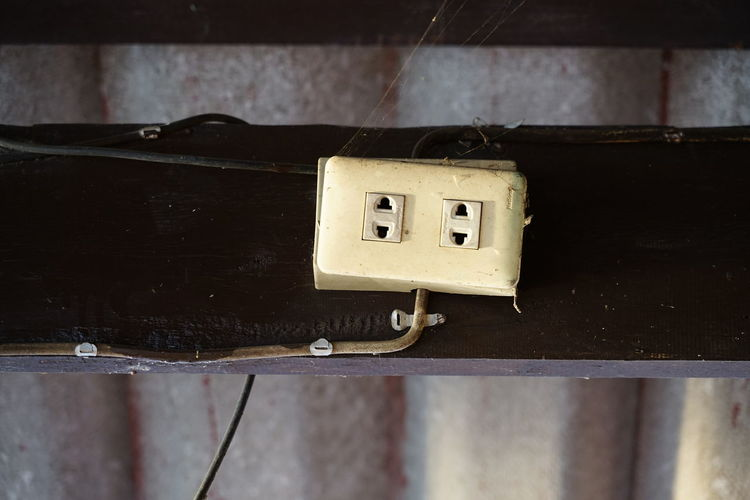 No People No Person Day Business Finance And Industry Electricity  Close-up Light Switch Outlet Electric Plug Electrical Component Industrial Building