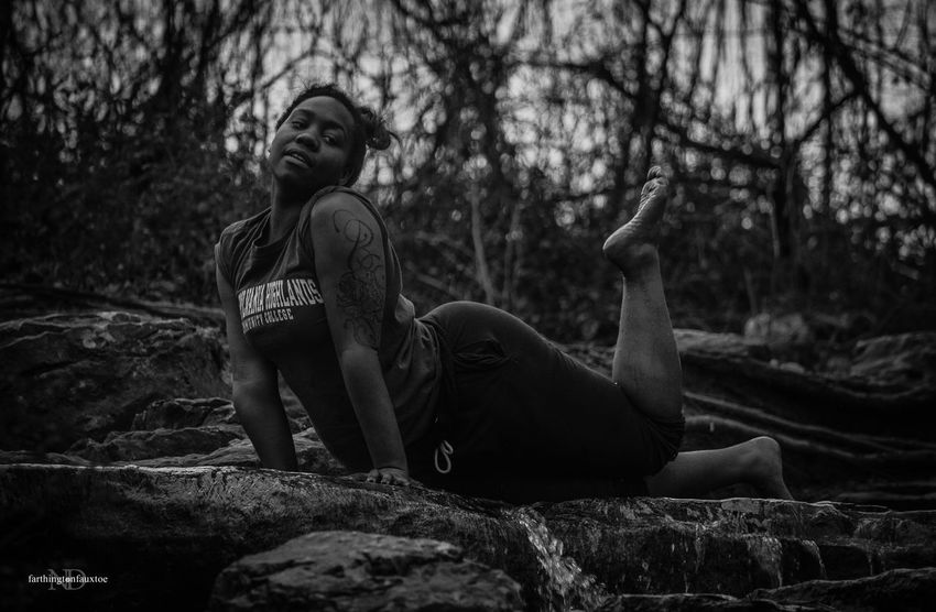 Uniqueness Young Adult People Outdoors One Person Nature Eye4photography  Kentucky  Beautiful Beauty Monochrome Black & White Black&white Blackandwhite Girl Girls Sensuallity Lostrivercave Model Candid Candid Portraits Pose Black Light White