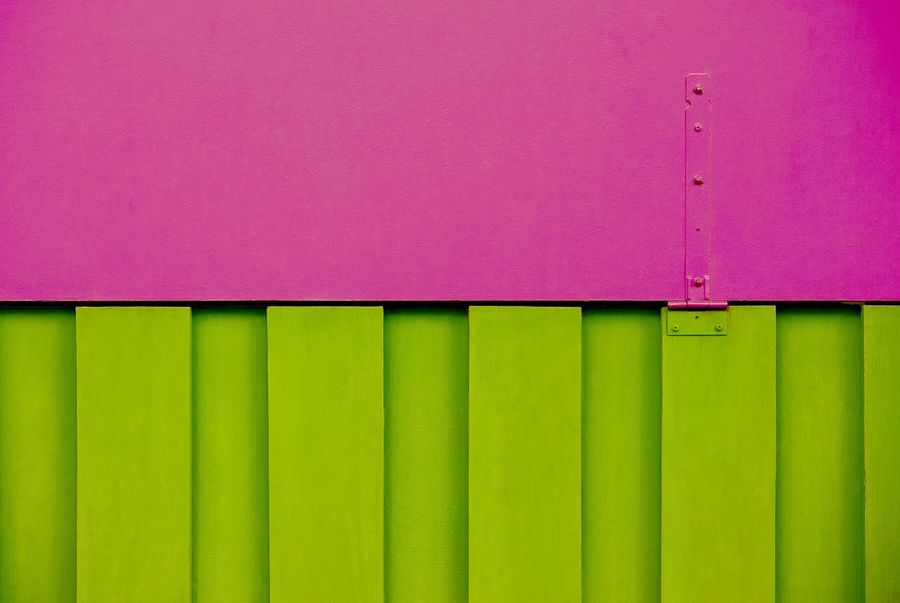 Pink Color Backgrounds No People Green Color Full Frame Multi Colored Textured  Built Structure Close-up Architecture Corrugated Iron Pink And Green Abstract Container Pattern Pattern, Texture, Shape And Form Transportation Construction Construction Site Cargo Container Shipping  Patterns & Textures Textured  Abstract Backgrounds Architectural Detail Closed Container Ship Vibrant Color Wall - Building Feature Copy Space