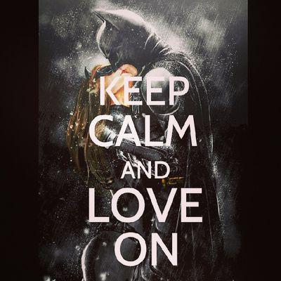 Best love story ever. Imadeit Batman Thedarkknightrises