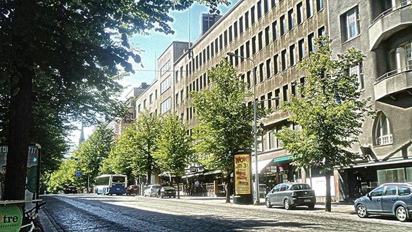 Hämeenkatu Katu Street Calle Rue Tampere Tamperelove Tre Igerstampere Igersfinland Igerssuomi Finland Suomi