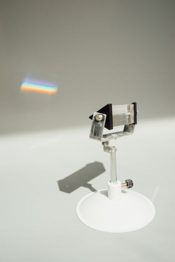Prism Optics Physics Sunlight Triangular Prism Close-up Indoors  Light - Natural Phenomenon Prism Rainbow Refraction
