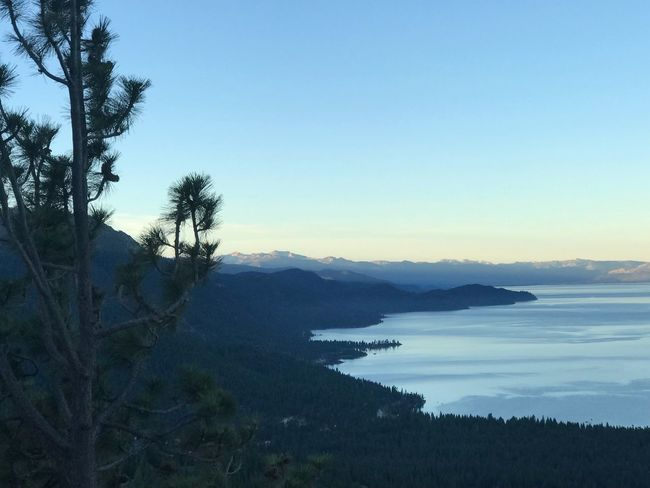 Tahoe unfiltered Sunrise morning Mountain Clear Sky No People Nature Non-urban Scene Outdoors