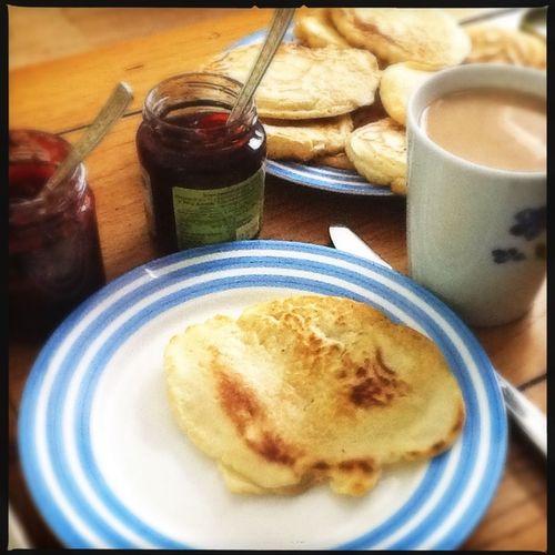 Lazy day... Coffee & pancakes. Baking Homemade Familylife Domesticgoddess