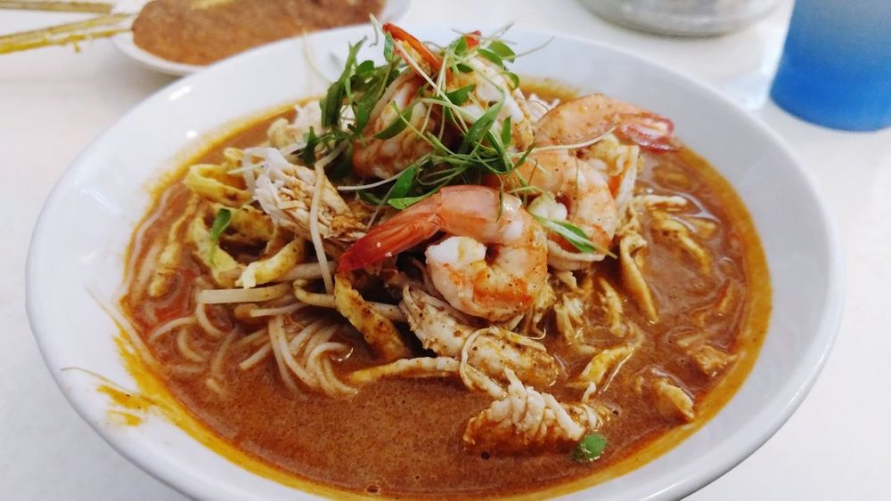 Sarawak Laksa Must Have Laksasarawak Yummy Delicious Kuching Food And Drink Food Ready-to-eat Bowl Indoors  Table Healthy Eating Food Stories