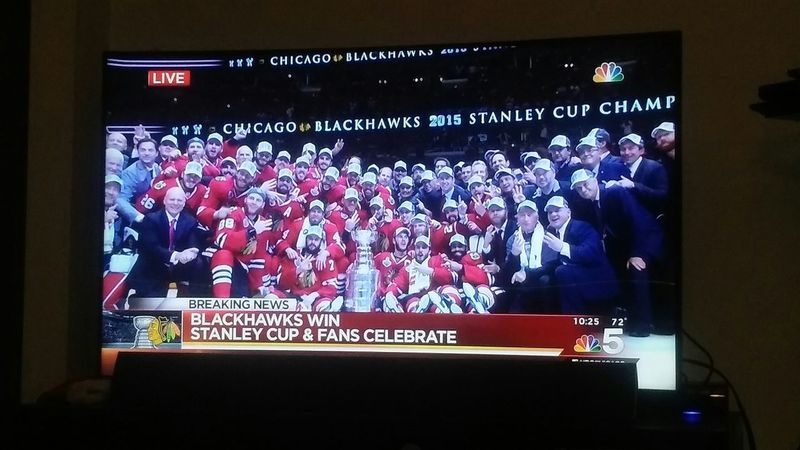 Chicago Blackhawks Stanley Cup We Are The Champions Sweet Home Chicago hell yeahh!!!