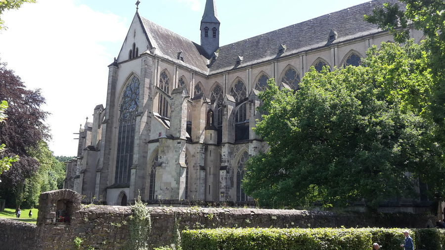Cathedral Catholic Church Altenberger Dom Altenberg Germany Outdoors No People