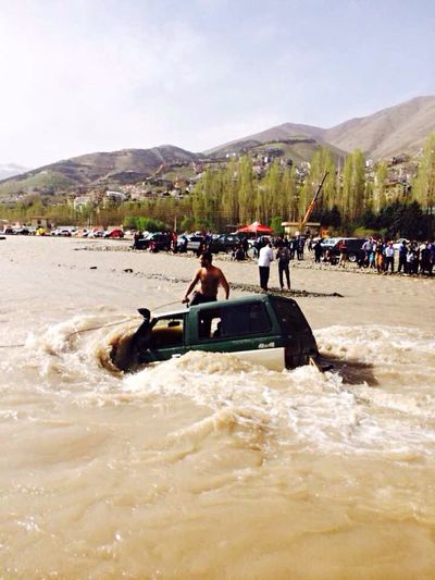 Problem Sideofroad By The River Hello World Six Cylinders Irantravel My Happy Place  Patrol
