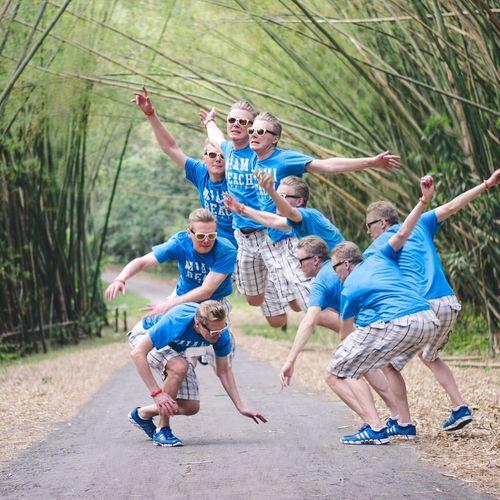 Arch of the Jump Fun Travel Jump Caribbean Bamboo First Eyeem Photo