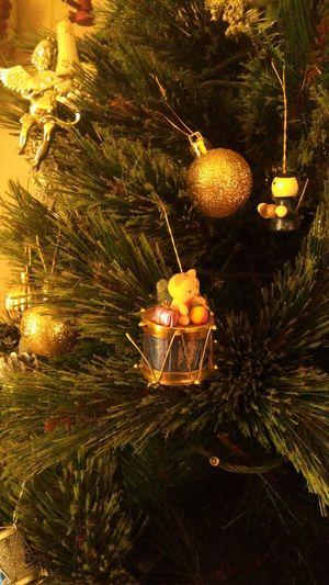 Christmas Christmas Tree Celebration Gold Colored Gold Tree Indoors  Cheers Bear Angel Joy Joyeux Noël**Marry Chrismas**Feliz Natal Toys Golden Shimmer
