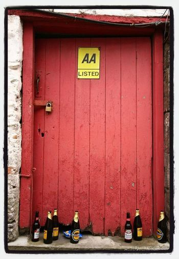 Bottles in a Dingle doorway. Insta_ireland Kerry Ireland Eye4photography