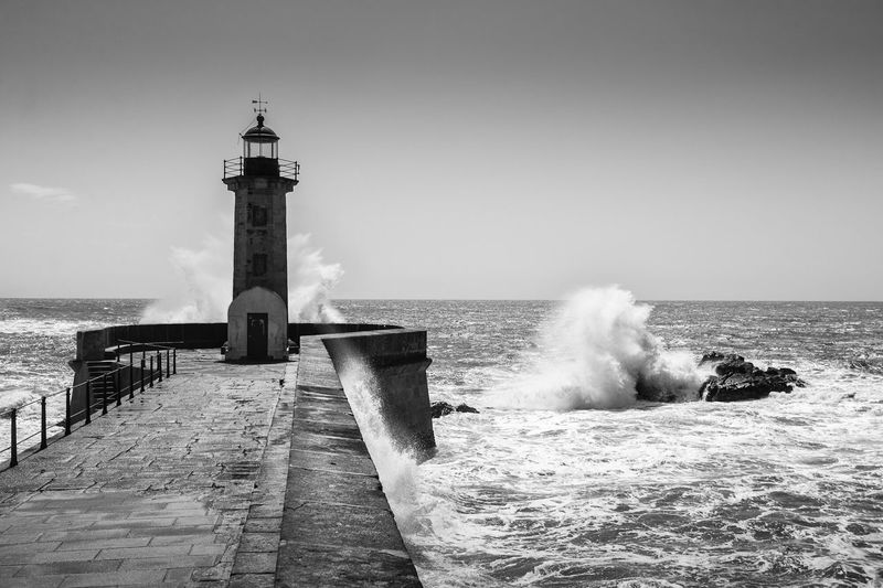 EyeEm Selects Porto Portugal Lighthouse Sea Leuchtturm