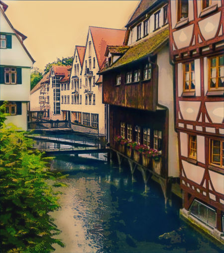 Artistically edited capture of a river running through a small Belgium town. Edited/Manipulated using Adobe Lightroom and Pics Art for Windows. Artistic Artistic Edit Artistic Photo Digital Art Digital Painting Europe Trip European  Historical HistoricalTown Painted Pictures Travel . Pastel Power
