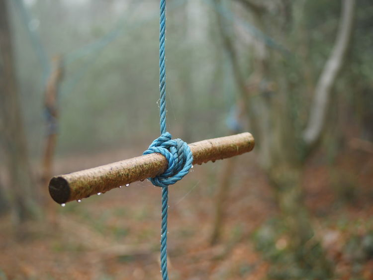Blue Close-up Day F1.7 Focus On Foreground GH4 Green Lumix Lumix Gf7 No People Outdoors Playground Pulley Rope Swing