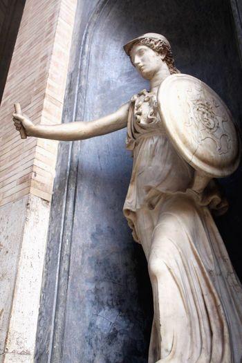 Atenea Statue Sculpture Mythology Travel Destinations Architecture Monument No People Fine Art Statue Travel Photography Tourism Italia Italy Athena Atenea