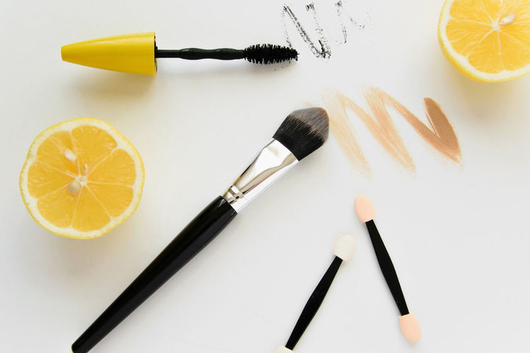 Desks From Above Fashion Freelance Life Freshness Make-up Makeup Sale Set Above Accessories Art Botique Brush Concept Design Discount Flat Lay Lemon Make Up Personal Personal Perspective Professional Summer Work Place Work Space