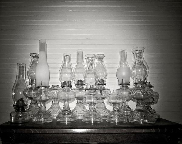 Oil Lamps Lamps Glass Lighting Glass Lamp Vintage Vintage Lamp Old Antique Lights Black And White Photography Monochrome Yesteryear  Southern Life Mississippi  Antebellum House Interiors  Old Glass Interior Decorating Interiordesign No People Indoors  Close-up Day