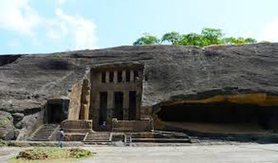 Kanheri caves rock cut structure built in 1 st century. Architecture