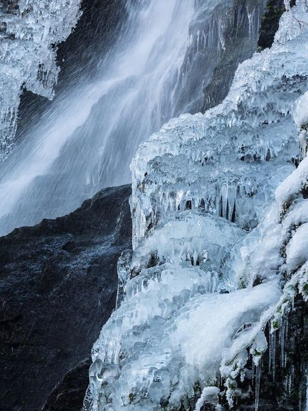 Ice Waterfall Blackforest Black Forest Blackandwhite Black And White Blackandwhite Photography Backgrounds Background