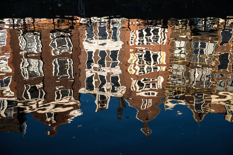 Amsterdam Canal Cityscape Day Dutch Holland Houses Houses Reflected In Water No People Outdoors Reflection Water