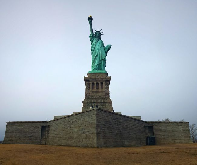 Statue Crown Sky Architecture Day Outdoors Liberty Liberty Island Statue Of Liberty New York City Freedom