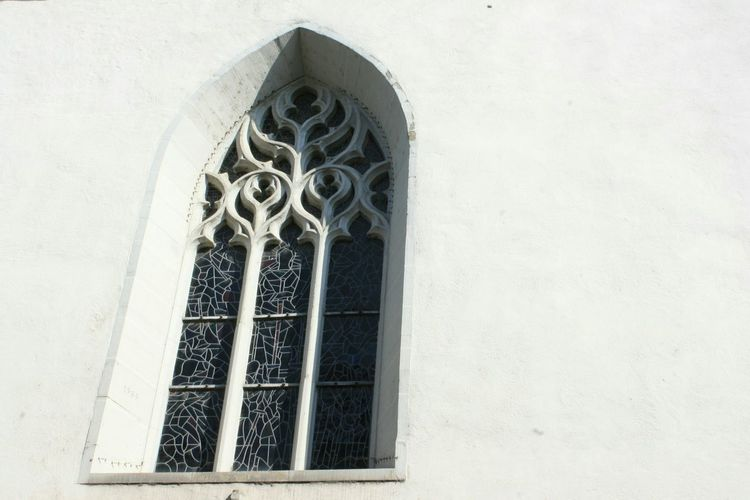 Window Architecture Ancient Architecture Ancient Church Eglise Coppet Window Vitrail Vitraux Streetphotography White Fenêtre Place Of Worship Spirituality Religion Window Rose Window Architecture Building Exterior Built Structure Sky Whitewashed Stone Material Historic History Historic Building Decorative Art Stone Wall Abbey Stained Glass