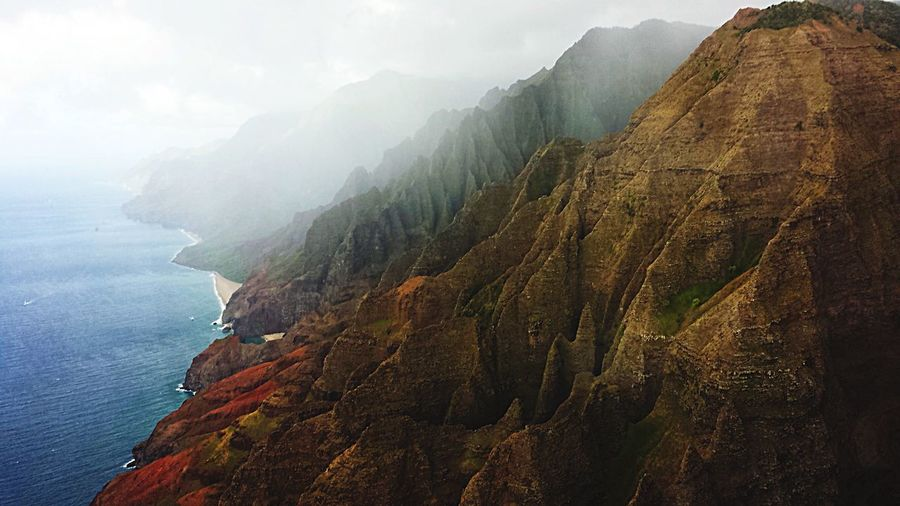 Jurassic Views Napali Coast Hawaii EyeEm Nature Lover OpenEdit EyeEm Best Shots EyeEm Best Shots - Nature Eye4photography  Tadaa Community Rainy Days Landscape_Collection Flying High