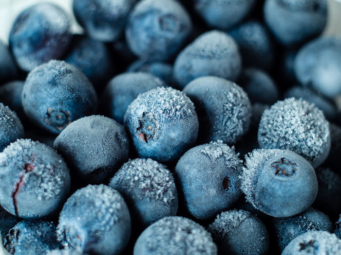 Healthy Breakfast: Close up of frozen blueberries, macro shot, top view Blueberry Breakfast Frozen Food Vegan Fruit Antioxidant Food And Drink Food Full Frame Close-up Freshness Backgrounds No People Wellbeing Indoors  Healthy Eating Large Group Of Objects Berry Fruit Abundance Selective Focus Sweet Food Still Life Nature Heap Snack Temptation