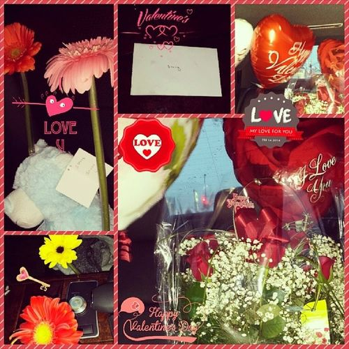 Happy Valentine's Day!!! Surprised Inmycar TheperfectValentinesDay Balloons teddybear redroses flowers handwrittencard heartfelt mylove iloveyouboo iloveyouVish HappyValentinesDay celebratinglove theloveofmylife mysoulmate myonetruelove ThankyouVish XOXO