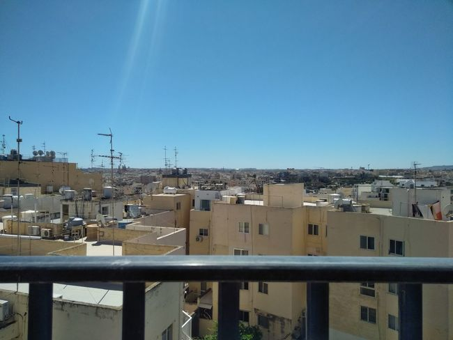 Malta Msida Roofs Of Malta Architecture Blue Building Exterior Built Structure City Clear Sky Copy Space Day Residential District Sky Spring Springtime Sunlight