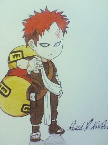 """Amine Naruto Sketch My Drawing """" gara """""""