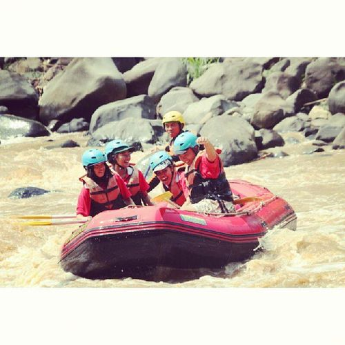 My Team! Riamjeram Rafting Holiday Happy smile
