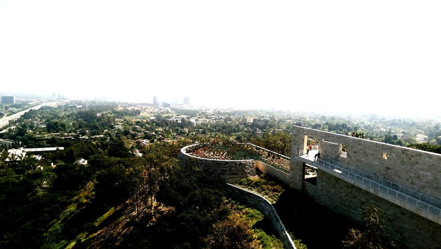 From The Rooftop Losangeles J.Paul Getty Museum Landscape Scenery Photography Landscape_Collection City California