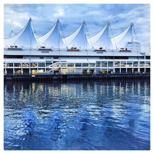 Canada Place Iphone 6 Plus Hipstamatic Vancouver