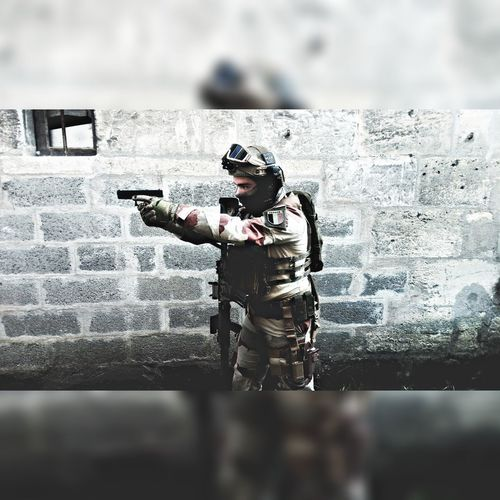 Be passionate. Airsoft AiRSOFTGUN Airsoft Is My Hobbies Airsoftsports Airsoft Photography Airsoft,war,special Forces,gun,rifle,scope, Softair Softairgun Passion Passionforphotography Water Full Length Window Washer Men Standing Occupation Wet Sky
