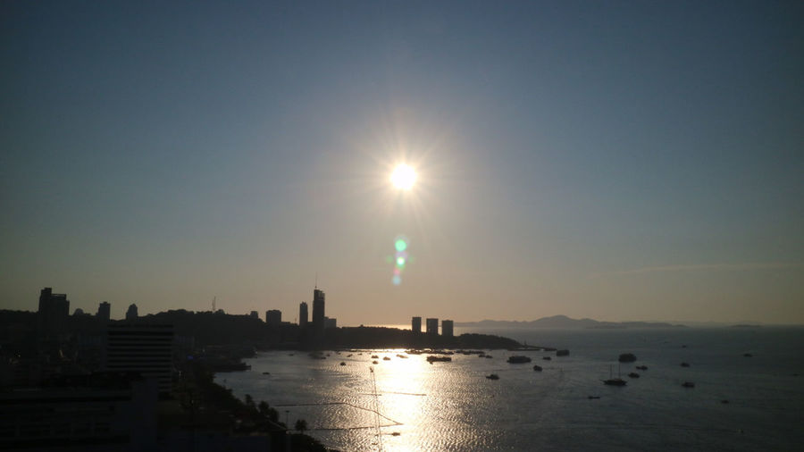 Pattaya Senset At The Sea Sunset Glowly Sunset Silhouettes Sunset Sky Sunset_collection Sunshine Sunshines