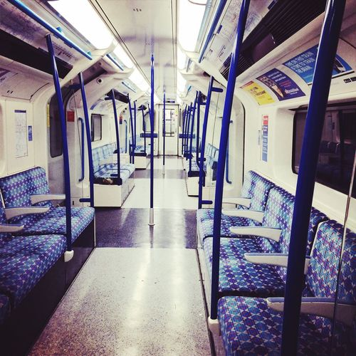 End of the line! Tube London Victoria Line Empty Travel Cities At Night My Commute