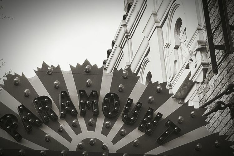 Multi Colored No People Day Walking Around Taking Pictures EyeEmNewHere Building Exterior Architecture Texas!!!! Historical Building HistoryAlive Black & White Restoration Marquee Marquee Theater Downtown