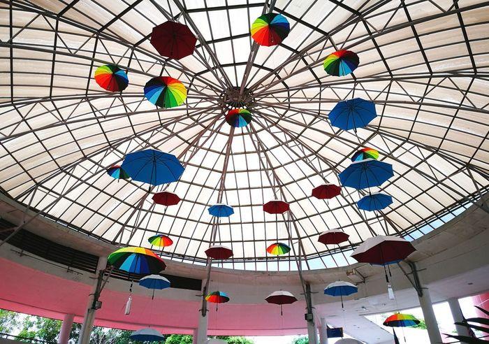 Indoors  Multi Colored No People Day Close-up Umbrellas Hanged Colorful Kota Kinabalu Sabah Malaysia