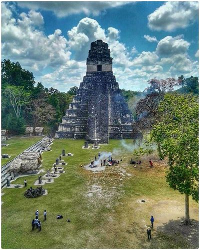 The lost city. Tikal😄 GUATEMALA Taking Photos Hello World PerhapsYouNeedALittleGuatemala First Eyeem Photo