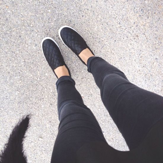 Obsessed with my new babies. Shoes Black Ootd Hanging Out