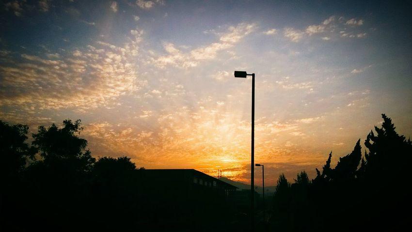 Waiting First Eyeem Photo Sunset Orange Sky