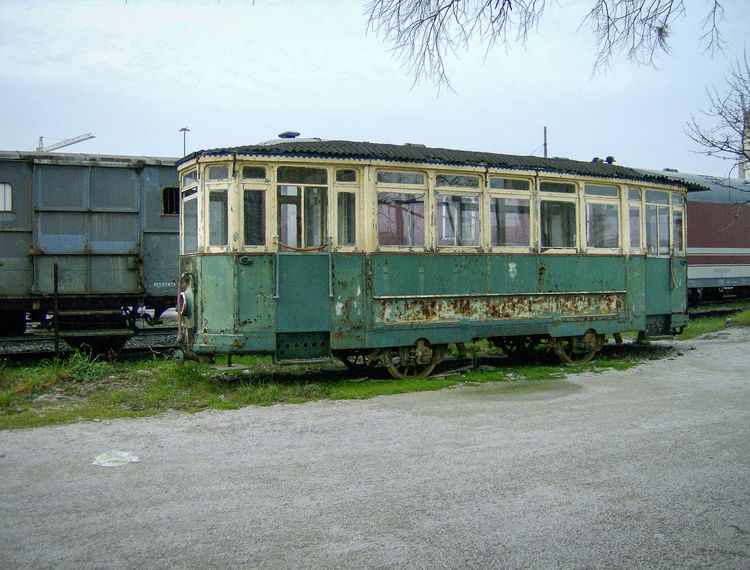 Abteil Bahn Carrozza Day Italia Italie Italien Italy Italy❤️ Italy🇮🇹 Museo Museum No People Old Outdoors Sky Train Train - Vehicle Treno Triest Trieste Vintage Waggon Wagon  Zug