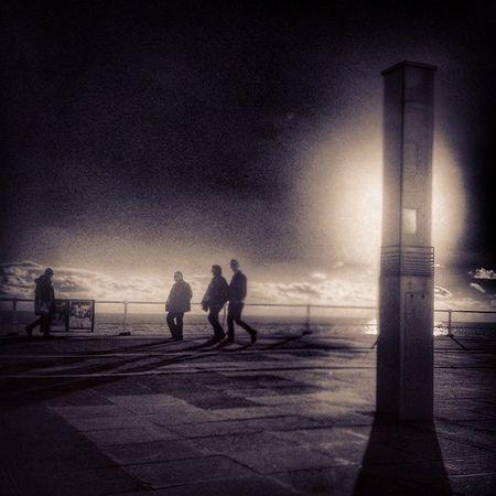 Stleonards Stleonardsonsea Prom Seaside seafront silhouette