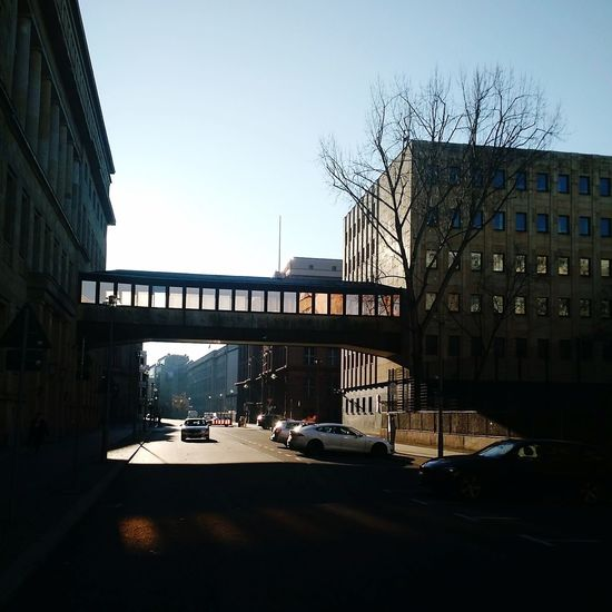 Landscapes Architecture Travel Bridge - Man Made Structure City Sky Outdoors No People Business Finance And Industry Building Exterior Berlin Photography Berlino Berlin Architecture Clear Sky