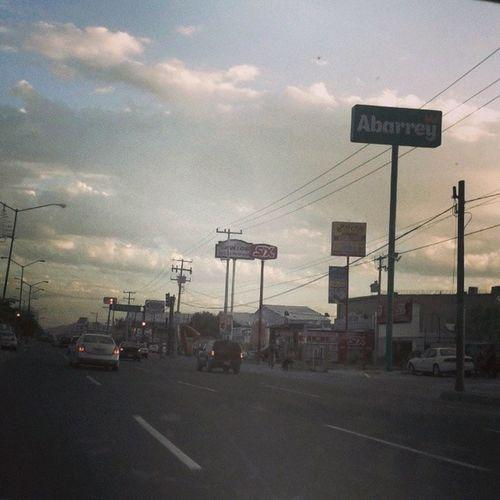 Hermosillo Boulevardsolidaridad Street Clouds boulevard